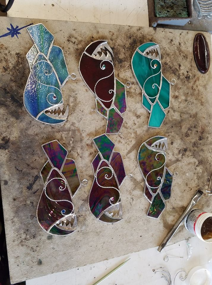 Stained Glass Suncatchers The Artists Corner Stained Glass
